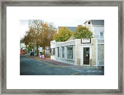 Commercial St. #2 Framed Print