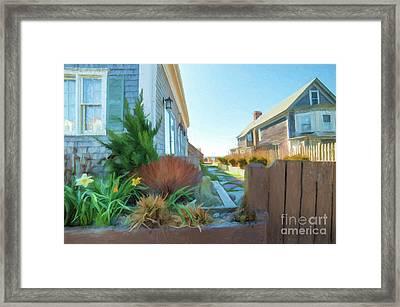 Commercial St. #4 Framed Print