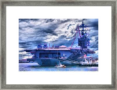 Commissioned Framed Print by DJ Florek