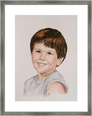 Commissioned Portrait 1 Framed Print
