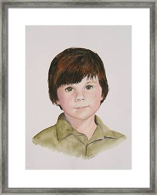 Commissioned Portrait 2 Framed Print