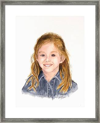 Commissioned Portrait 3 Framed Print