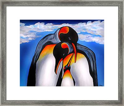 Commitment Framed Print by Adele Moscaritolo
