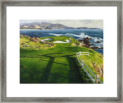 Commitment Framed Print by Shelley Cost