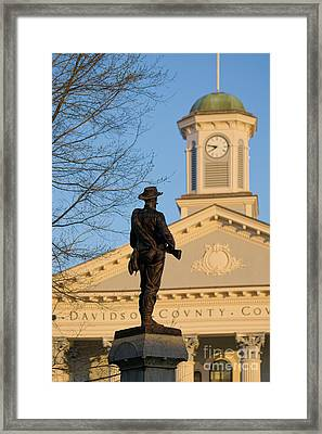 Common Soldier Framed Print