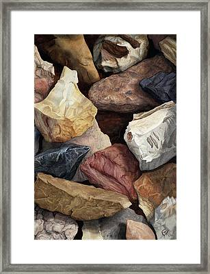 Commonstone Too Framed Print by Craig Gallaway