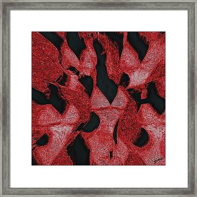 Commune In Undergarments Framed Print