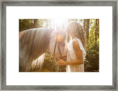 Framed Print featuring the photograph Communion 2 by Dario Infini