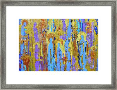 Communion Of Saints Framed Print