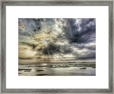 Communion Sunrise Sunset Framed Print