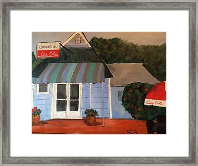 Community Gro Framed Print by Kimberly Balentine