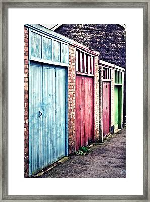 Community Vibrance Framed Print by Tom Gowanlock