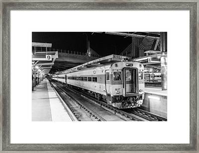 Commuter Rail Framed Print