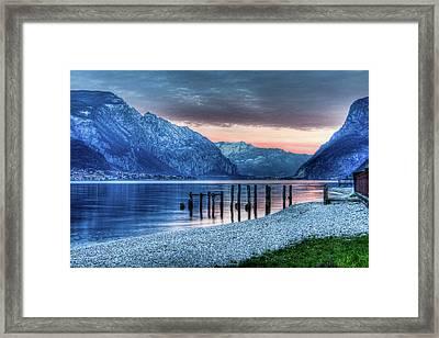 Como's Lake Framed Print