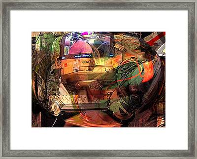 Comp 2 Framed Print by Dave Kwinter