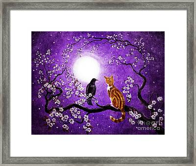 Companionable Silence Framed Print by Laura Iverson