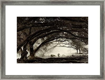 Companionship Framed Print