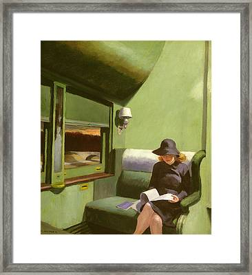 Compartment C Framed Print