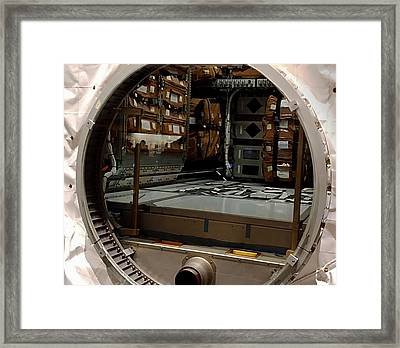 Compartment Framed Print