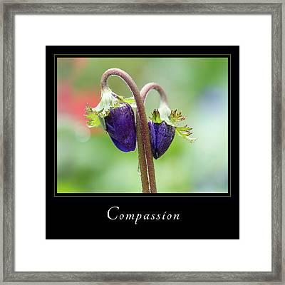 Compassion 1 Framed Print