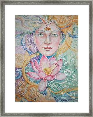 Compassion Framed Print by Catherine Moore