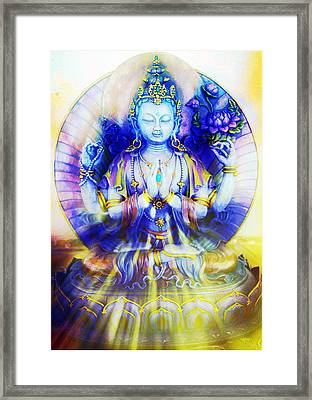 Compassion Framed Print by Dorothy Berry-Lound