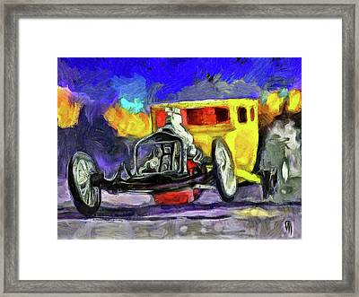Competition Coupe Van Gogh Framed Print