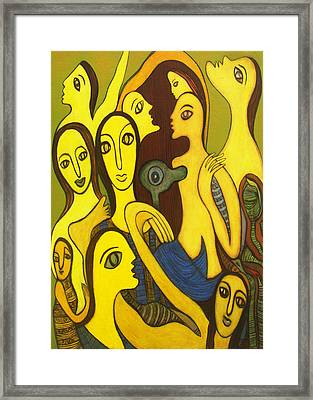 Competition Framed Print by Nabakishore Chanda