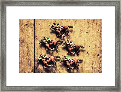 Competition Win Concept Framed Print
