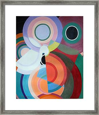 Complement Framed Print by Muriel Dolemieux
