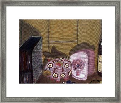 Complementary Still Life Framed Print by Hannah Curran