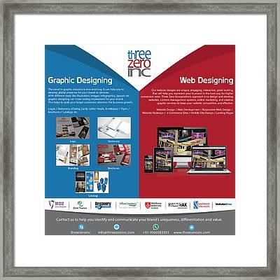 Complete Branding Solution Framed Print