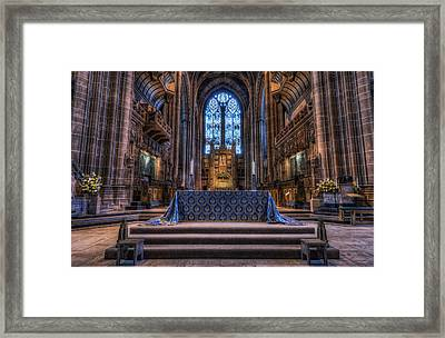 Complete Faith Framed Print
