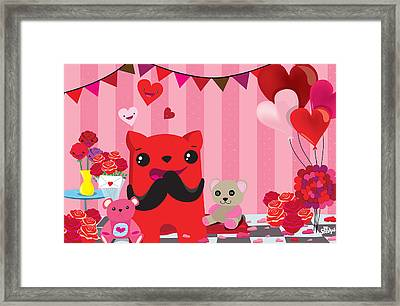 Completly  In Love Framed Print by Seedys
