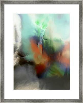 Complex Framed Print