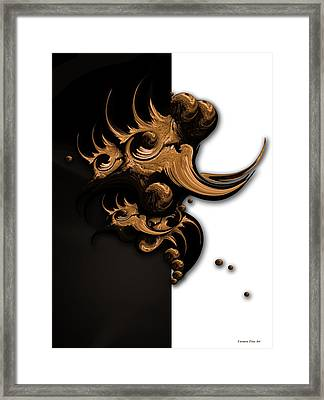 Complex Formation Framed Print