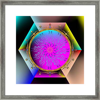 Complexical No 1821 Framed Print
