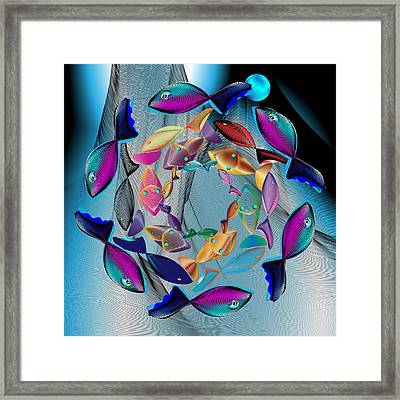 Complexical No 2159 Framed Print