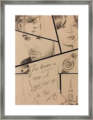 Complicated Romance Framed Print