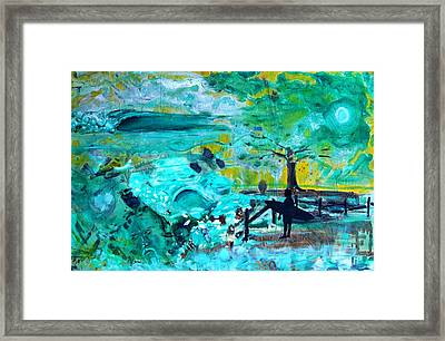 Complications Framed Print by Nathan Paul Gibbs