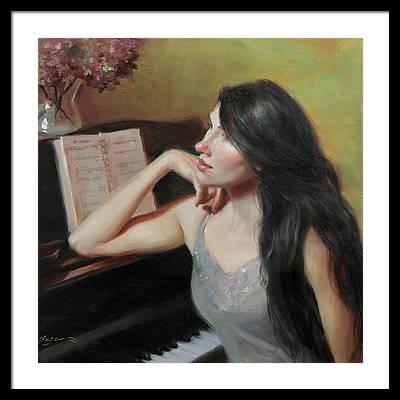 Composer Framed Prints