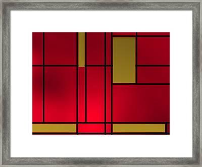 Composition 14 Framed Print by Alberto RuiZ