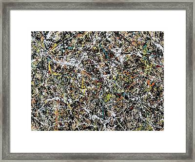 Composition #16 Framed Print