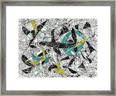 Composition #18 Framed Print