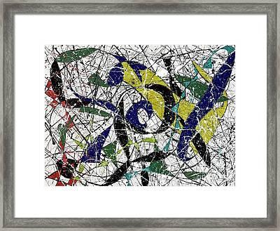 Composition #19 Framed Print
