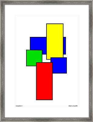 Composition 2 Framed Print by Asbjorn Lonvig