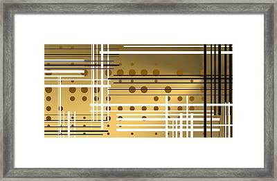Composition 4 Framed Print by Alberto RuiZ