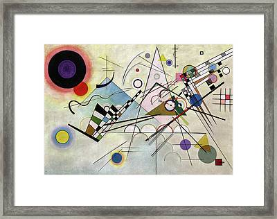 Composition 8 Framed Print