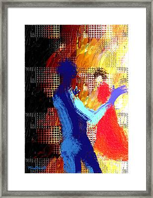Composition Framed Print