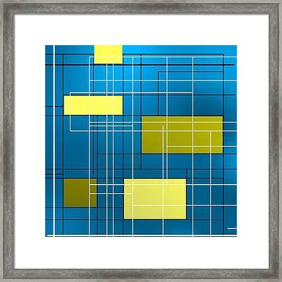 Composition M Framed Print by Alberto RuiZ